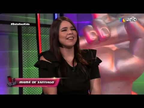 Batallas Team Camilo (Santiago Vs Ferchis Vs Emily) La voz Kids Martes 13 De Abril 2021 Capitulo 8