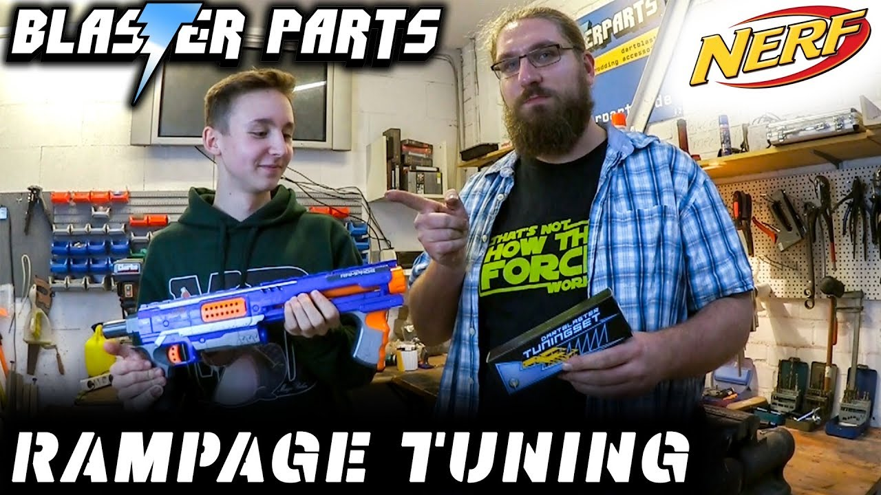 Tuning der nerf rampage magicbiber youtube