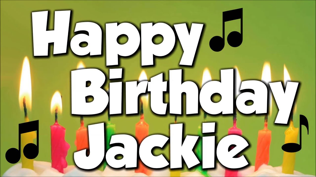 Happy Birthday Jackie Cake Pic