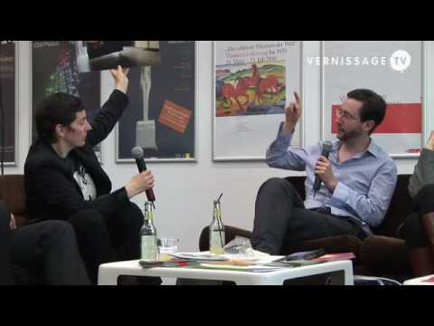 Art Talk at Art Cologne with artist Andreas Fogarasi