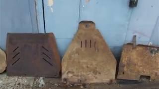 Защита днища Nissab Pathfinder. Часть 1