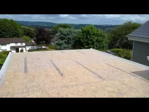 Fibreglass Flat Roofing in Newport South Wales by: Glass ...