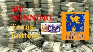 Winning the Texas Lotto / Daily 4