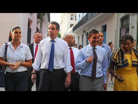 Gobernador de Nueva York, llega a Cuba a explorar oportunidades comerciales
