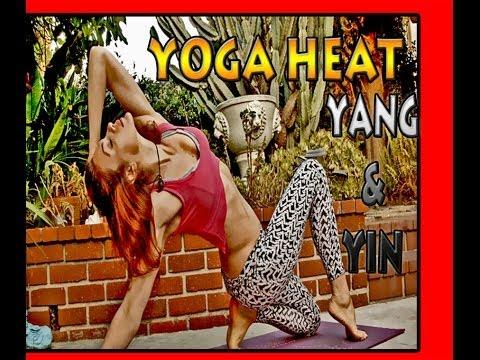 AK70 HOT Yoga Warm up Yang & Yin Metabolism Cardio Eyes Closed Movement