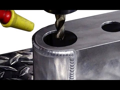 TIG Welding Aluminum Fabrication - Whacker Guard - (Water Manifold 2 of 3)