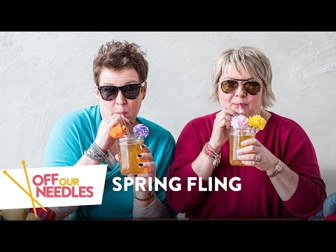 Fresh For Spring: Knitted Boot Liners, Jewel-tone Shawls & Brioche Police | Off Our Needles S1E6
