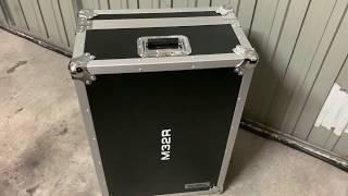 flightcase midas m32r maleta Flyht Pro unboxing desempaquetado castellano español