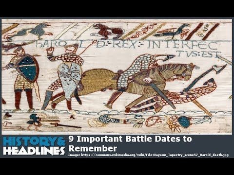 9 Important Battle Dates to Remember