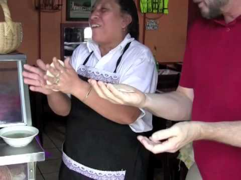 The Art Of Making Tortilla In Guatemala.