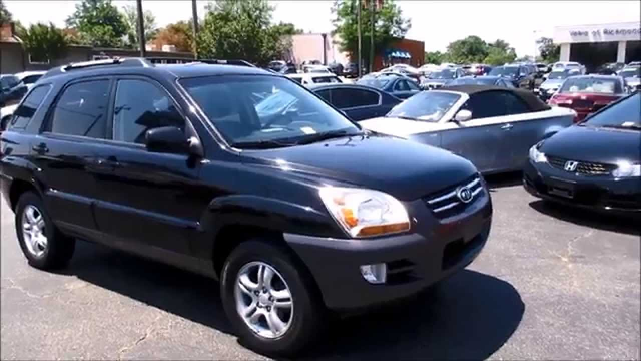 2008 kia sportage ex v6 walkaround start up and overview youtube. Black Bedroom Furniture Sets. Home Design Ideas