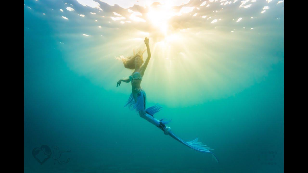 Silhouette Girl Real Wallpaper What It Feels Like To Swim Like A Mermaid Youtube