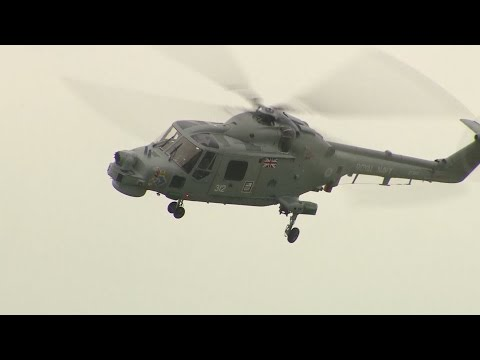 Royal Navy Bids Farewell To Lynx Helicopter After 40 Years