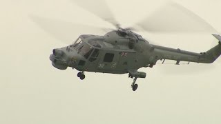 Royal Navy Bids Farewell To Lynx Helicopter After 40 Years' Service | Forces TV