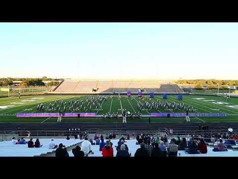 SF Austin High Band, Austin TX, UIL Marching Band show, 10/24/17.