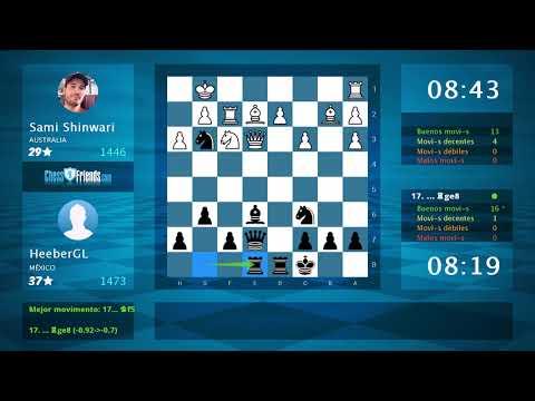 Chess Game Analysis: AOT14 - Arwan13 : 0-1 (By ChessFriends.com)Kaynak: YouTube · Süre: 4 dakika47 saniye