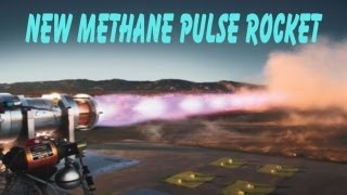 Tests & Crash of Nasa Methane Rocket