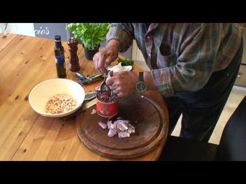 At Home with Antonio Carluccio Tuna and bean salad