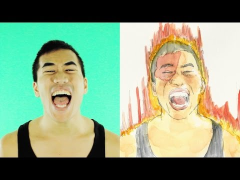 Drawing a music video by hand | Andrew Huang