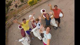 видео На яхте по островам Испании