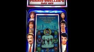 Ferris Buellers Day Off Slot Machine On The Run Bonus - Ferris Wins !