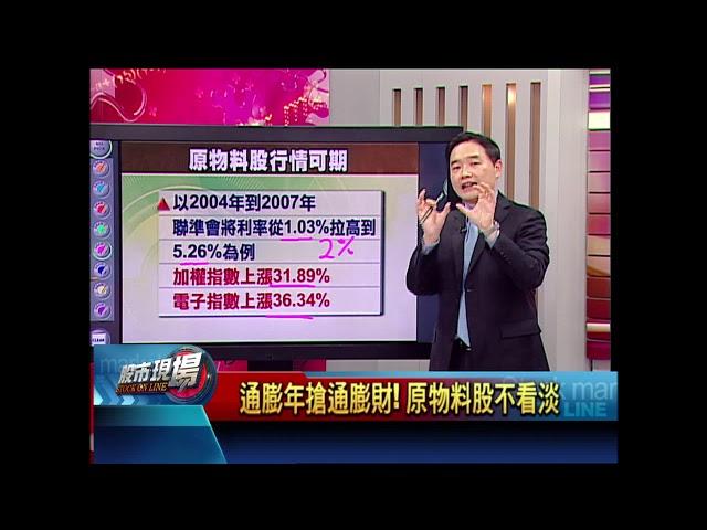 股市現場*鄭明娟20180629-6【升息助通膨 台原物料產業能嚐甜頭?】(孫慶龍)