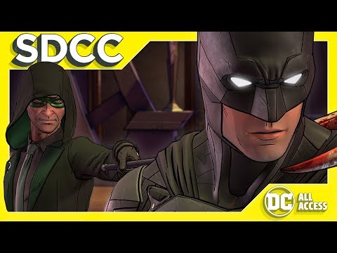 SDCC DAY 1 - NEW Batman Telltale + Justice League Batmobile