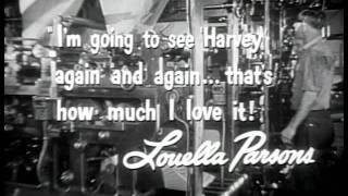 Harvey Official Trailer #1 - James Stewart Movie (1950) HD