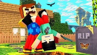 Minecraft - Hello Neighbor - MY NEIGHBOR BURIED ME ALIVE?