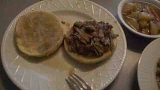 New Orleans Roast Beef Sandwich