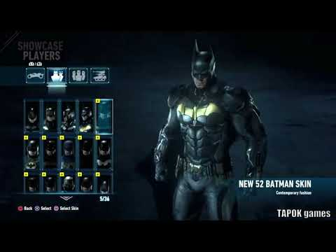 Batman: Arkham Knight - all skin from season pass [HD 1080p] |