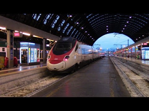 SBB CFF FFS EC 23 Bellinzona ⇒ Milano Centrale ETR 610 RABe 503 Tilt Train