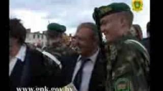 Воинская присяга курсантов пограничного факультета