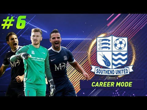 FIFA 18 CAREER MODE - SOUTHEND UNITED - ALL DEFENDERS ARE INJURED - #6