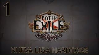PATH OF EXILE | METAMORPH HARDCORE | Empezamos la nueva Liga con Nicro | Hechicera full pets