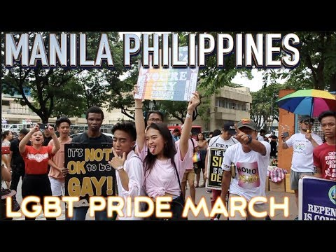LGBT Pride parade Manila Philippines  |  #riseuptogether
