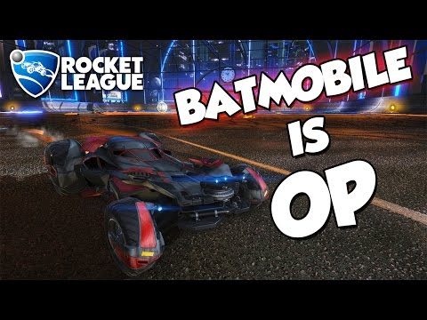Batmobile is OP | Rocket League Montage