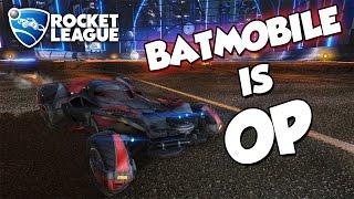 Batmobile is OP | Rocket League Montage