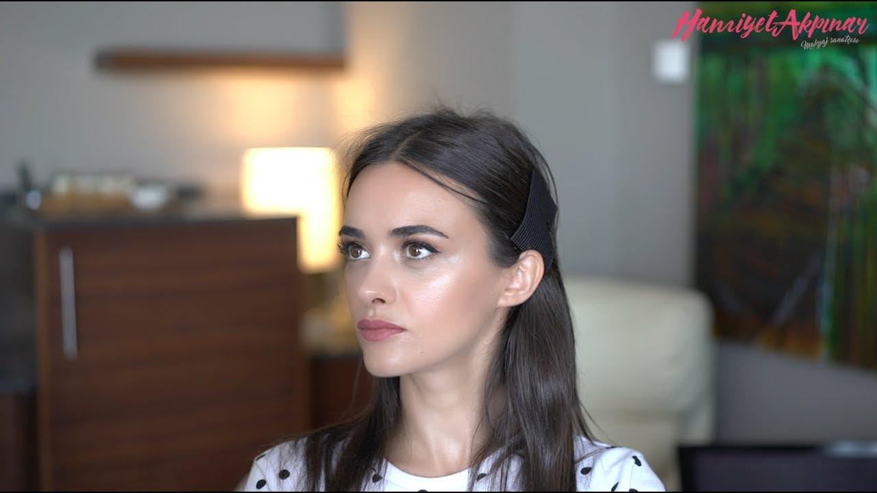 Hande Soral Ile Eyelinerlı Makyaj Hamiyet Akpınar Youtube