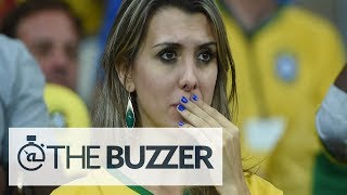 Saddest Brazilian Fans During Ugly Loss To Germany - @TheBuzzeronFOX
