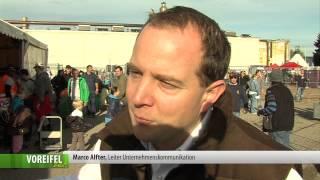 Eichel- und Kastanienaktion von Haribo in Bonn