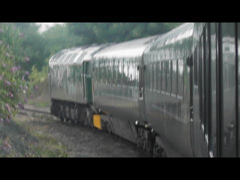 GWR Night Riveria Express from London to Penzance 12/7/17 - 13/7/17