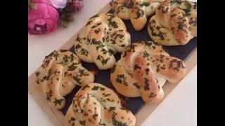 Sarımsaklı Pretzel Ekmek Tarifi