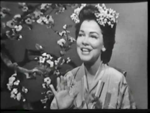 Kathryn Grayson--Un Bel Di, Madame Butterfly, 1958 TV