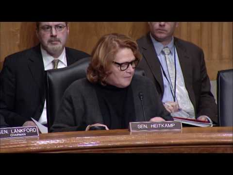 Heitkamp Helps Lead Senate Subcommittee Hearing on Federal Regulations for Small Businesses