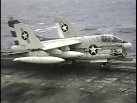 USS Oriskany air ops Vietnam 1972