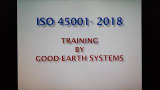 ISO 45001 2018 - Purpose of this Standard and Para 4 - Context of the Organization in more detail.