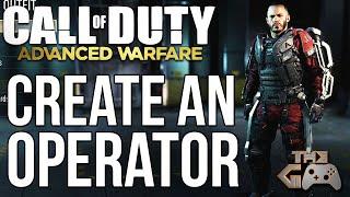 Advanced Warfare-Multiplayer - Erstellen eines Operators & Virtuelle Lobbys Erklärt (COD AW MP Gameplay)