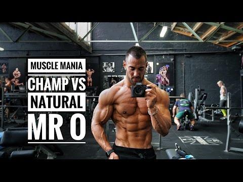 MUSCLE MANIA CHAMP VS MR O   Big Bad Shoulder Tips!