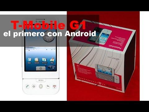T-Mobile G1 (HTC Dream), características del 1r Smartphone con Android